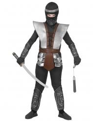 Disfarce super ninja criança