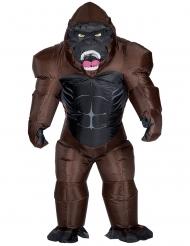 Disfarce insuflável gorila adulto