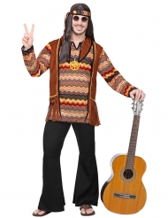 Disfarce hippie natureza homem