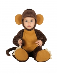 Disfarce macacão chimpanze bebe