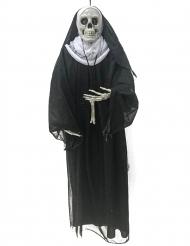 Decoração para pendurar freira 86 cm
