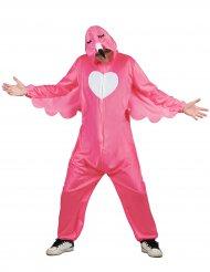 Disfarce flamingo rosa homem