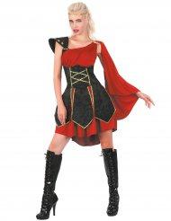 Disfarce gladiadora mulher
