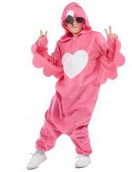 Disfarce flamingo rosa menina