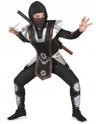 Disfarce guerreiro ninja menino