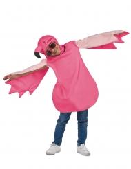 Disfarce flamingo rosa criança