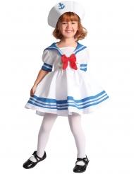 Disfarce marinheiro menina