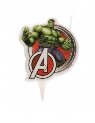Vela de aniversário Hulk Avengers3 7.5 cm Os Vingadores™