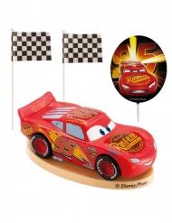 Kit topo de bolo em plástico Cars™ 8.5 cm