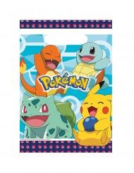 8 Sacos de festa de plástico Pokemon™
