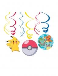 6 Decorações de suspender Pokemon™