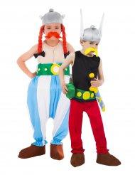 Disfarce para casal Asterix e Obelix criança