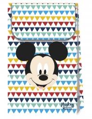 6 Sacos de cartão premium Mickey™ 21 x 13 cm