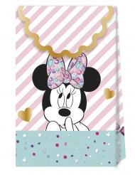 6 Sacos de cartão premium Minnie™ 21 x 13 cm