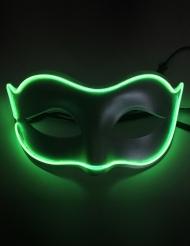 Máscara veneziana neon adulto
