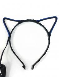 Bandolete orelhas de gato neon adulto