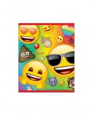 8 Sacos de festa de plástico Emoji Rainbow™
