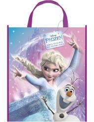 Saco presente de plástico Frozen™ e Olaf™ 33 x 27 cm