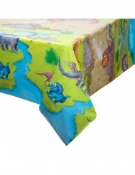 Toalha de plástico dinossauros 137 x 213 cm