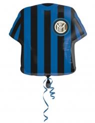 Balão de alumínio camisola de futebol Inter™ 60 cm