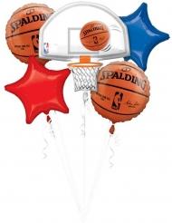 Ramo 5 balões alumínio NBA Spalding™