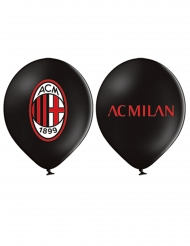 12 Balões de látex AC Milan™ 30 cm