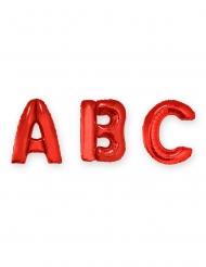 Balão alumínio gigante letra vermelha 1 m