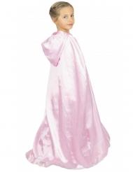 Capa princesa sweet cor-de-rosa criança