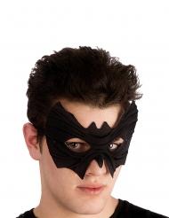 Máscara morcego em tecido com relevo adulto