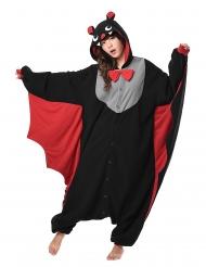 Disfarce Kigurumi™ morcego adulto