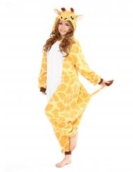 Macacão Kigurumi™ girafa adulto
