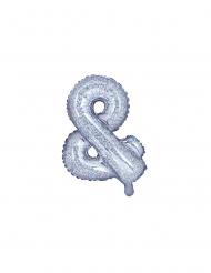 Balão de alumínio & iridescente 35 cm