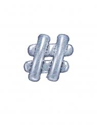 Balão de alumínio # iridescente 35 cm