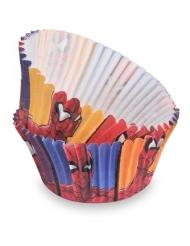 50 Formas de cupcakes Spiderman™ 7 cm