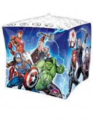 Balão de alumínio cubo Avengers™38 x 38 cm