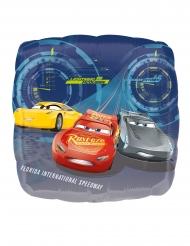 Balão de alumínio quadrado Cars 3™ 43 x 43 cm