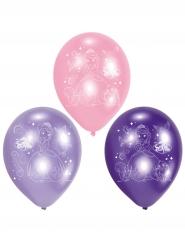 6 Balões de látex Princesa Sofia™ 23 cm