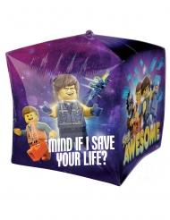 Balão de alumínio cubo A Grande aventura Lego 2™ 38 x 38 cm