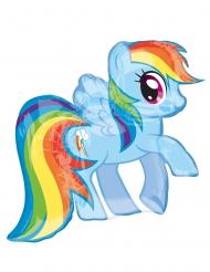Balão alumínio My Little Pony™ Rainbow Dash 71 x 68 cm