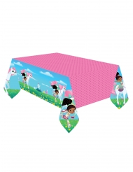 Toalha de plástico Nella Princesa Cavaleira™ 180 x 120 cm