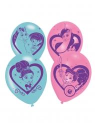 6 Balões látex Nella Princesa Cavaleira™