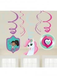 6 Decorações para pendurar Nella Princesa Cavaleira™