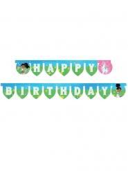 Grinalda de cartão Happy Birthday Nella Princesa Cavaleira™ 210 x 13 cm