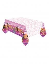 Toalha de plástico rosa Patrulha Pata™ 137 x 274 cm