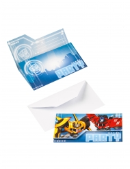 8 Convites Transformers™
