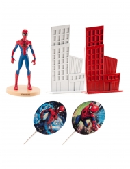 Kit decoração de bolo Spiderman™ 8 cm