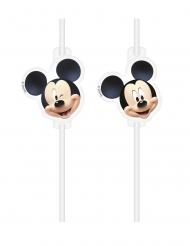 4 Palhinhas de plástico Mickey™