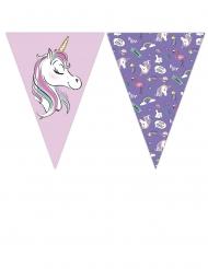 Grinalda 9 bandeirolas Minnie Unicórnio™
