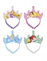 4 Tiaras de cartão Princesas Disney Dreaming™
