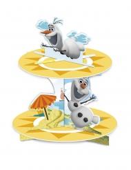 Mostrador de cupcakes em cartão Olaf™
